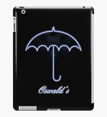 Gotham Oswald's night club iPad Case/Skin