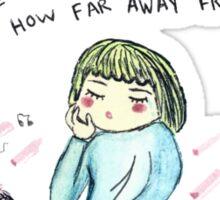 Sad Grl  Sticker