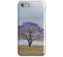 Just a Jacaranda - Near Boonah Qld Australia iPhone Case/Skin