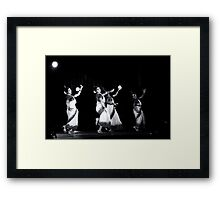 Contemporary Indian Classical Dance-6-Mamata Shankar Ballet Troupe  Framed Print