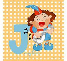 j for jongleur Photographic Print