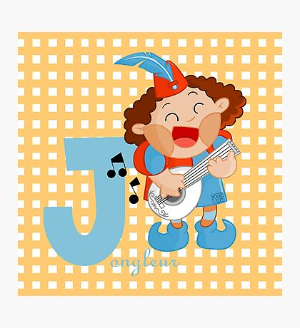 j for jongleur Photographic Print