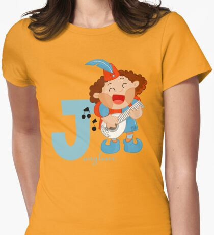 j for jongleur Womens Fitted T-Shirt