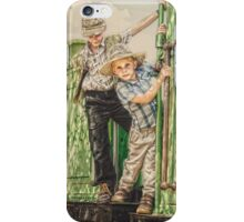 Playing: Years Ago... #002 iPhone Case/Skin