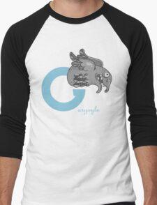 g for gargoyle Men's Baseball ¾ T-Shirt