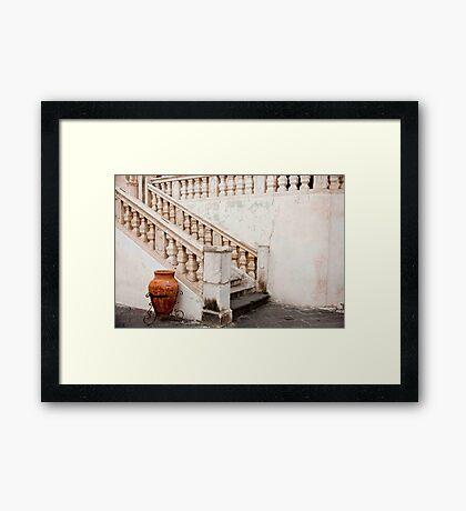 Church Stairs Framed Print