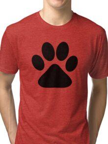 Dog Paw Tri-blend T-Shirt