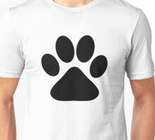Dog Paw Unisex T-Shirt
