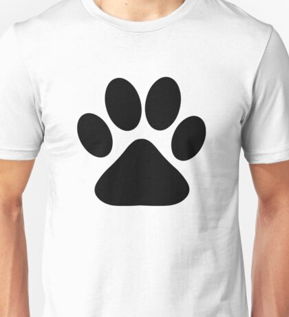 Dog Paw Unisex T-Shirt