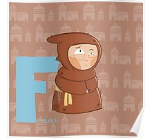 f for friar Poster