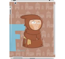 f for friar iPad Case/Skin