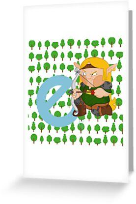 e for elf by alapapaju