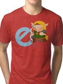 e for elf Tri-blend T-Shirt