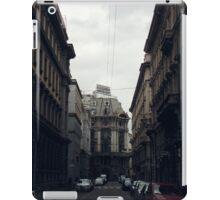 Streets of Milan, Italy iPad Case/Skin