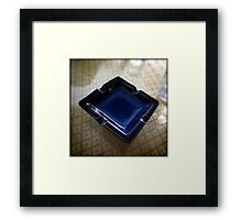 Ashtray, Blue Bird Cafe - Shenzhen, China Framed Print