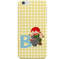 b for blacksmith iPhone Case/Skin