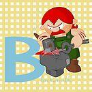 b for blacksmith by alapapaju