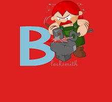 b for blacksmith Unisex T-Shirt
