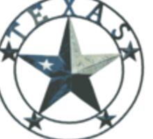 Country Strong Texas Strong Badge Sticker