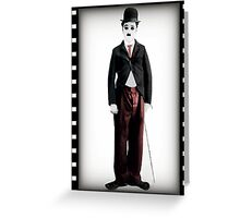 ๑۩۞۩๑  MY DOLL CHARLIE CHAPLIN-PILLOW-TOTE BAG- PICTURE-CARD- ECT.  ๑۩۞۩๑ Greeting Card