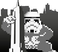 Kong_Trooper attacks Empire State by SHTTT