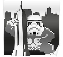 Kong_Trooper attacks Empire State Poster