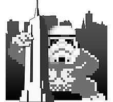 Kong_Trooper attacks Empire State Photographic Print