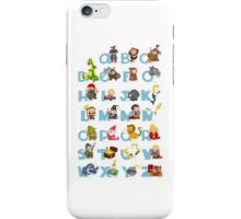 ABC medieval (spanish) iPhone Case/Skin