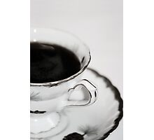 Cup and Saucer Photographic Print