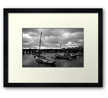Bridlington Dock Framed Print