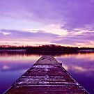 Sunset Jetty by James Dolan