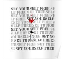 Set yourself free Poster