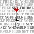 Set yourself free by Amanda  Cass