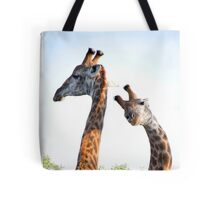 Walking with Giraffes - South Africa Tote Bag