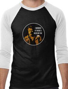 Zap Rowsdower - BEER QUOTE Men's Baseball ¾ T-Shirt