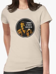 Zap Rowsdower - BEER QUOTE Womens Fitted T-Shirt