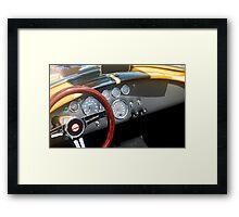 Classic Sports Car Framed Print