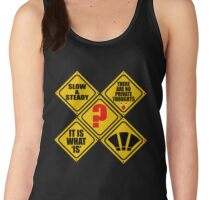 WHAT signs? Women's Tank Top