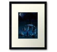 The Place Where the Warlocks Meet Framed Print