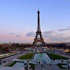 Trocadero at dawn by bubblehex08