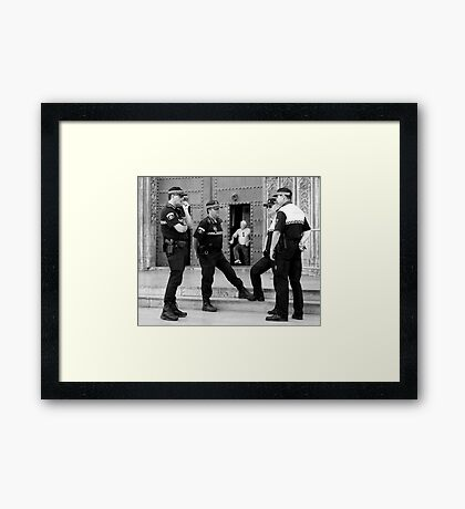 The Escapee Framed Print
