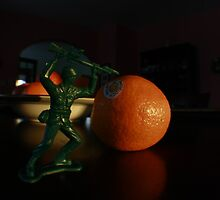Army Guy and the Tangerine by Aaron  Schilling