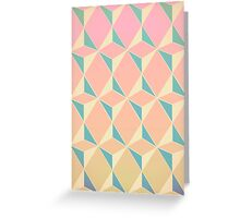 Triangles and Squares XI Greeting Card