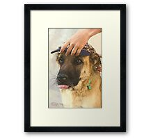 In The Saloon... Framed Print