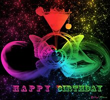 Happy Birthday -  Art + Products Design  by haya1812