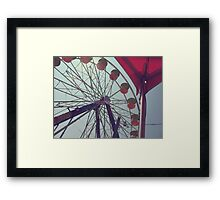 Vinage Fair Framed Print