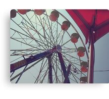 Vinage Fair Canvas Print