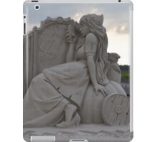 Princess sand sculpture iPad Case/Skin