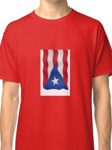 Puerto Rican flag Classic T-Shirt