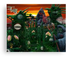 Reaper in Nowhere Land Canvas Print